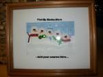 Snowman Family Diorama